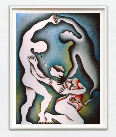 Judy Chicago, 'Wrestling with the Shadow for Her Life', 1982