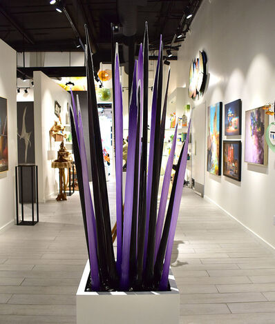 Jesse Kelly, 'Black and Purple Spears Plant', 2020