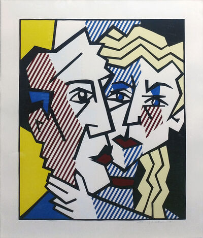 Roy Lichtenstein, 'THE COUPLE', 1980