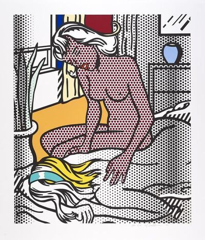 Roy Lichtenstein, 'Two Nudes', 1994