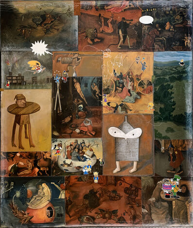 Armando Romero, 'Las Tentaciones de San Antonio I', 2018