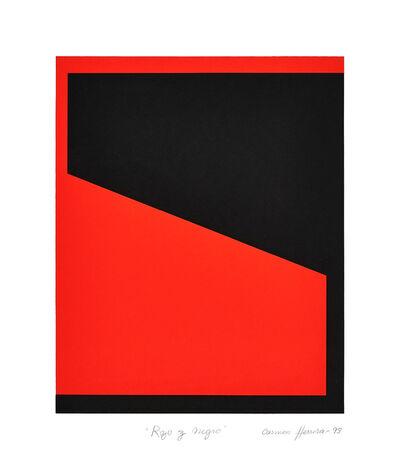 Carmen Herrera, 'Rojo y Negro (Red or Black)', 1993