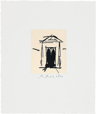 Robert Motherwell, 'House of Atreus', 1983