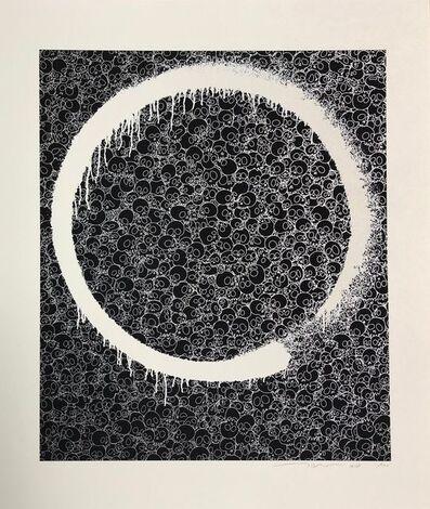 Takashi Murakami, 'Enso: Facing the Pitch, Black Void', 2018