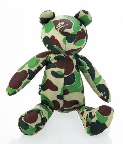 BAPE, 'Teddy Bear Tote Bag (Green Camo)', 2017