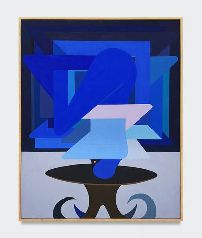 Richard Colman, 'Figure as Object, (Blue)', 2018