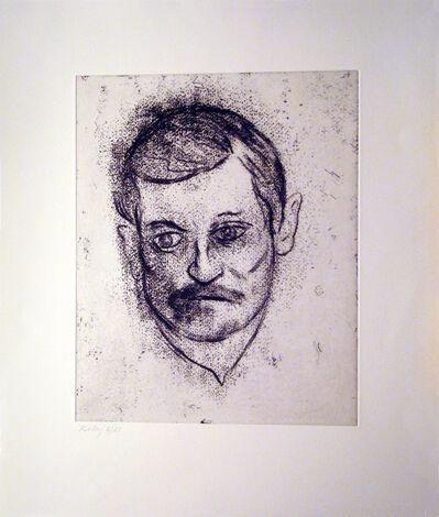 R. B. Kitaj, 'John Ashbery', 1997