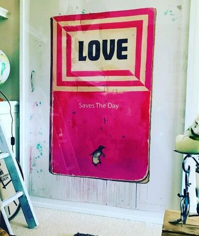 Harland Miller, 'Love Saves the Day ', 2019