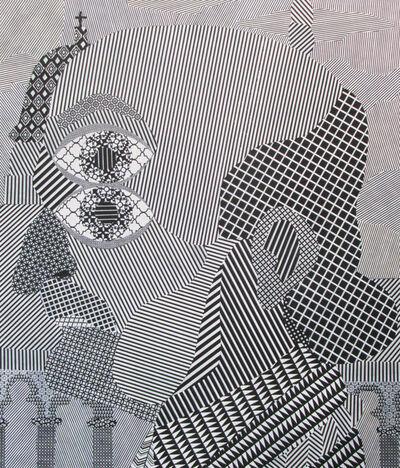 José Lerma, 'Man on Black Friar's Bridge', 2017