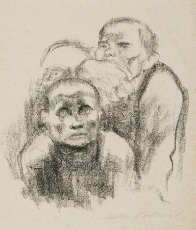 Käthe Kollwitz, 'Prisoners Listening to Music', 1925