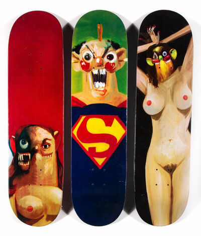 Supreme, 'Skate Decks, set of three', 2010