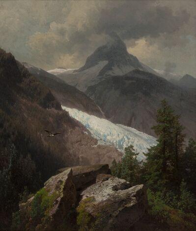 Herman Herzog, 'Mountainous Landscape', ca. 1880