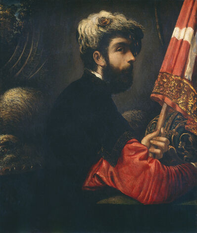 Jacopo Tintoretto, 'Portrait of a Man as Saint George', 1540-1550