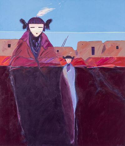 Dan Namingha, 'Spirits at Dawn', 1983