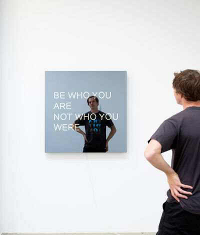 Jeppe Hein, 'BE WHO YOU ARE NOT WHO YOU WERE', 2014