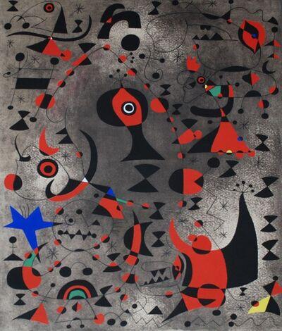 Joan Miró, 'Vers l'arc-en-ciel (Toward the Rainbow), Plate XV', 1959