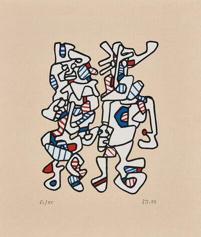 Jean Dubuffet, 'Parade nuptiale (Courtship)', 1973