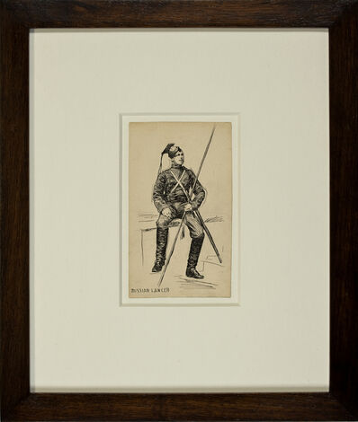 Edward Hopper, 'Russian Lancer', ca. 1899