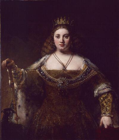 Rembrandt van Rijn, 'Juno', ca. 1662-1665