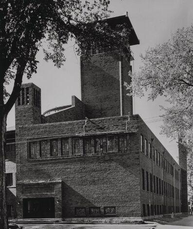 Aaron Siskind, 'Four Views of St. Paul's Methodist Church, Cedar Rapids, Iowa (four works)'