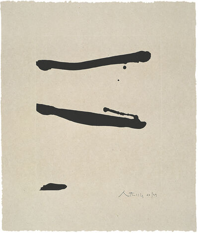 Robert Motherwell, 'Dutch Linen Suite: Untitled', 1974