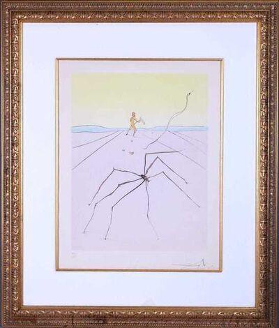 Salvador Dalí, 'Kumo, the Weaver Spider', 1976