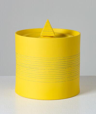 Peter Pincus, 'Jar Drawing #1: Assignments and Arrangements (Yellow Jar)', 2020