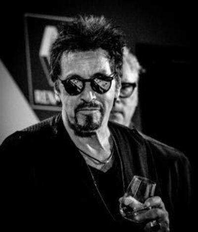 Karim Rahoma, 'Al Pacino & Barry Levinson', 2014