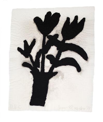 Donald Baechler, 'Untitled (Linen Flower #1,#2, & #3)', 2004