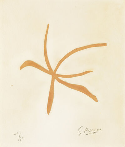 Georges Braque, 'Si je mourais là-bas.', 1962