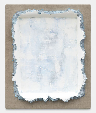 Andrew Dadson, 'Turquoise Light Grey White Restretch', 2020