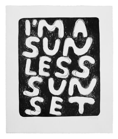 Stefan Marx, 'I'm a Sunless Sunset', 2020