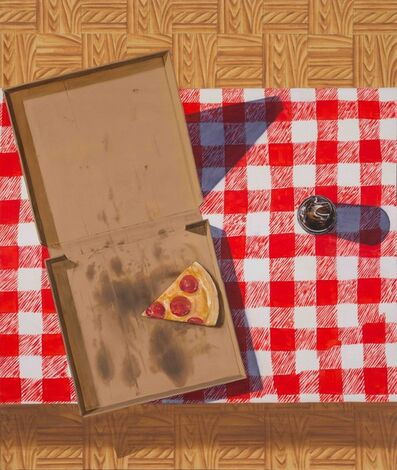 Esteban Ocampo, 'Pizza y Coca-Cola', 2019