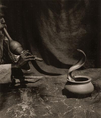 Marcus Leatherdale, 'Bharat Tasvir (Snake Charmer)', 1993