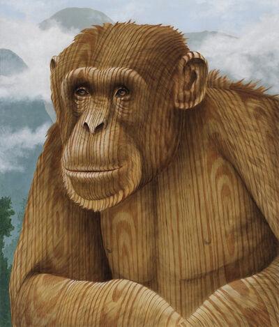 Sean Landers, 'Wood Chimp', 2020