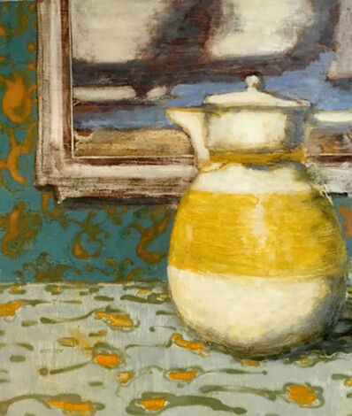 David Konigsberg, 'Teapot and Landscape', 2017
