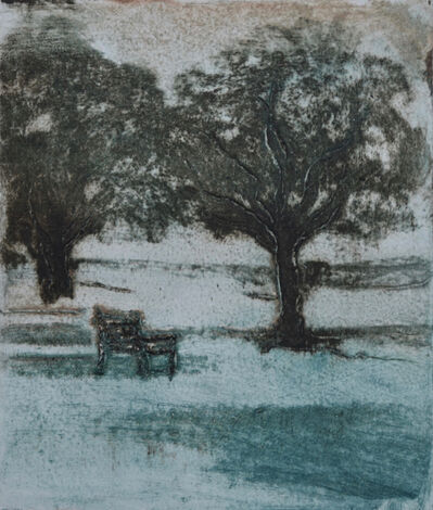 Ian Laurie, 'Park Bench', 2017