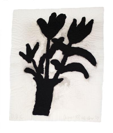 Donald Baechler, 'Untitled (Linen Flower #1)', 2004