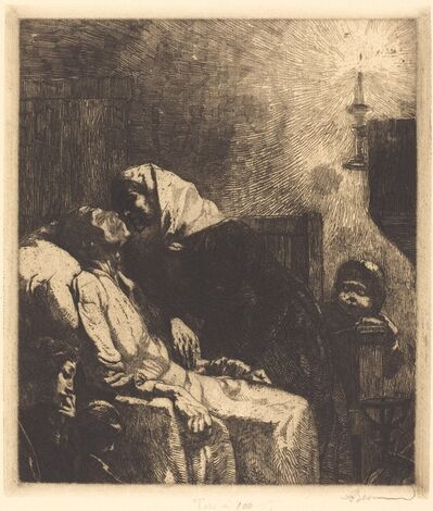 Albert Besnard, 'The End', 1883