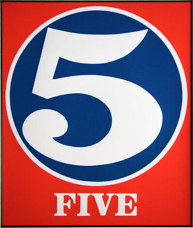 Robert Indiana, 'Five 5', 1987