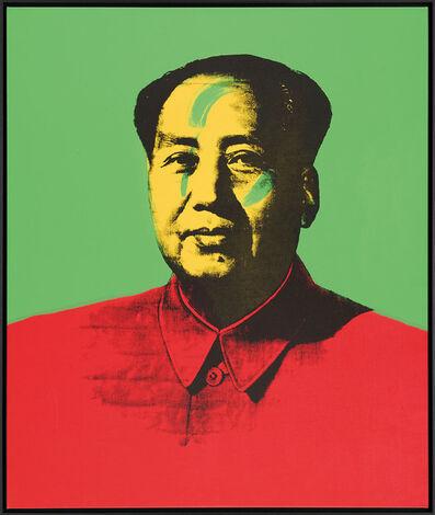 Paul Stephenson, 'Mao - Permanent Green Light, Cadmium Red Medium, Cadmium Yellow Medium', 2019