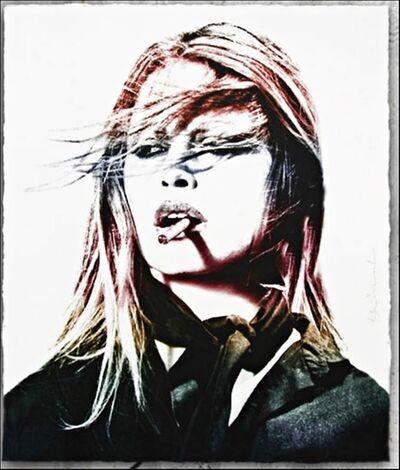 Mr. Brainwash, 'Brigitte Bardot (Red Lips)', 2016