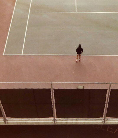 David Hockney, 'Tennis Court', 1973