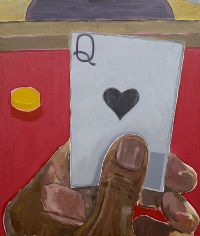 Enrico Riley, 'Untitled; Card Player, Queen', 2020