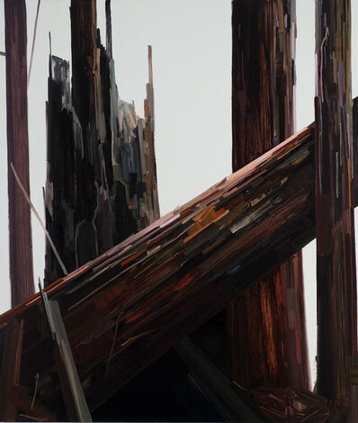 Claire Sherman, 'Diagonal Tree'