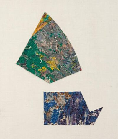 Sam Gilliam, 'Untitled (Abstract Diptych)', 1980