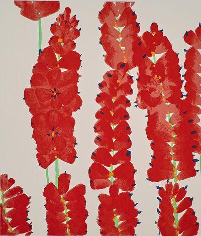 Donald Sultan, 'Wallflowers', 2008