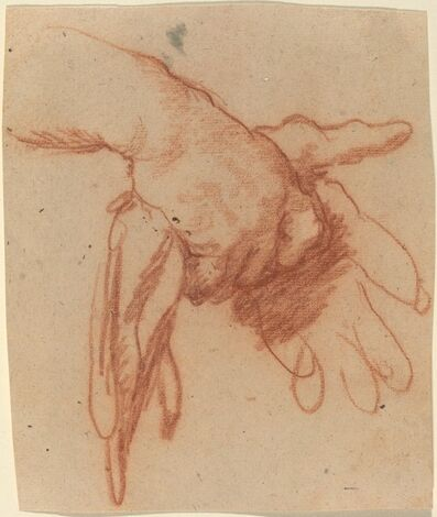 Bernardo Strozzi, 'Hands Holding Empty Gloves', ca. 1618