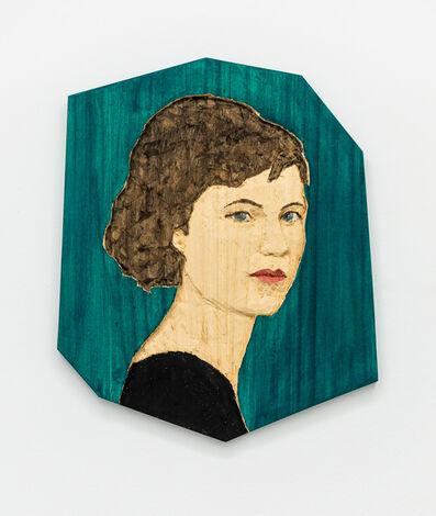 Stephan Balkenhol, 'Woman (Abstract Form)', 2019