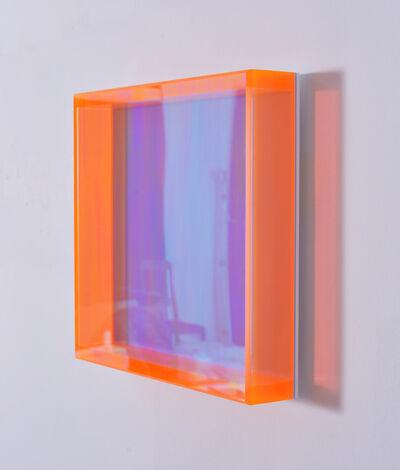 Regine Schumann, 'Colormirror rainbow pastel blu munich', 2019